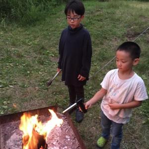 ポップコーンの悲劇 無印南乗鞍キャンプ場19年-6