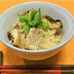 和だしと麺つゆで炊く簡単だけど本格的な鯛めし