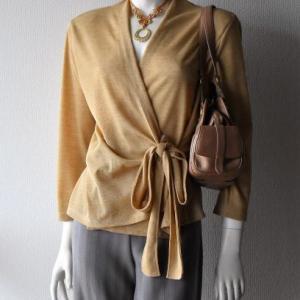 【新作】マクラメネックレス(完成)+【旧作】服+インポートバッグ
