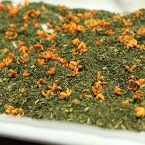 桂花茶も作ってみました。