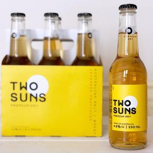 日本の技術とオーストラリアの麦芽でつくられたビール – TWO SUNS –
