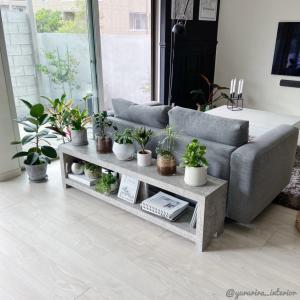 IKEA花瓶に♪2色の土に好きな植物を寄せ植えで夏っぽく★