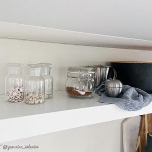 IKEA,ソスグレ★並べて涼し気…プチプラでおしゃれなガラス保存瓶たち♪