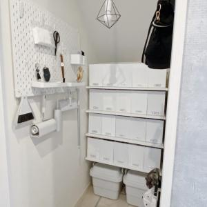 folk掲載★無印・ニトリ・IKEAで日用品を「ざっくり収納」♪