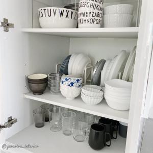 え?100円?!ダイソーで見つけた「北欧」な茶碗と食器棚収納