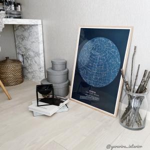北欧デザインポスター【mapiful】で思い出をポスターに