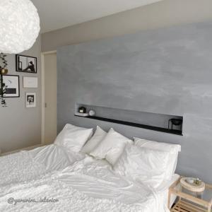 DIY★主寝室の壁をモルタル風にしました ~その②~