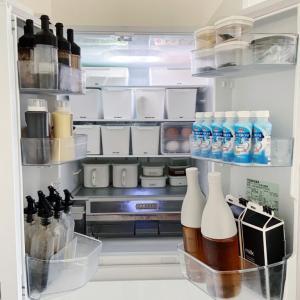 folk掲載記事★100均アイテムでリバウンドしない冷蔵庫収納!