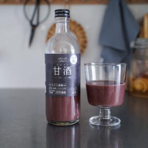 「一日一善」麹と雑穀で作られた黒い甘酒