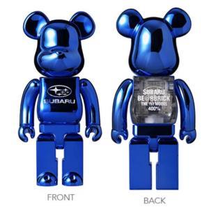 【8月17日抽選締切】SUBARU BE@RBRICK THE 1ST MODEL 400% スバル ベアブリック ザ ファースト モデル