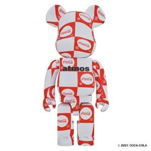 【7月31日発売開始】BE@RBRICK atmos × Coca-Cola 1000% 東京 ベアブリック アトモス コカ・コーラ