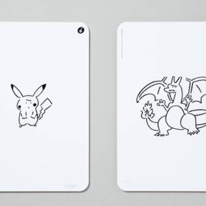 【7月25日抽選締切】YU NAGABA X ポケモンカードゲーム ピカチュウ & リザードン シルクスクリーンプリント