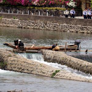 【京都・嵐山の旅 PARTⅣ】一級河川・桂川と嵐山の街を散策!