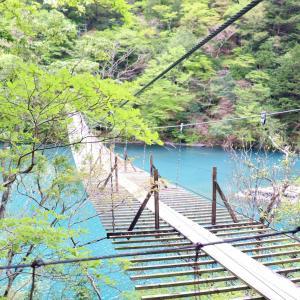 神秘的な青の絶景!【寸又峡・夢の吊り橋】への旅!PART1