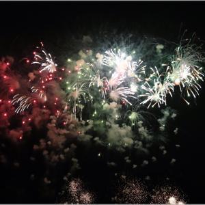 岐阜県長良川の花火大会を、デパート屋上から撮影してみた!PART1
