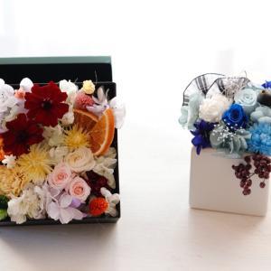 【レッスンレポ】春のボックスフラワー♪