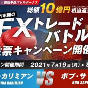 【海外FX】BIG BOSS|FXトレードバトル 投票キャンペーン|100%入金ボーナス