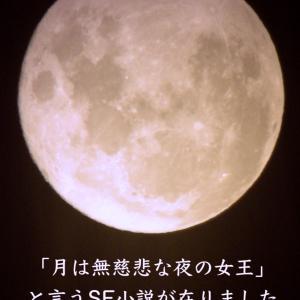 月の妄想が止まらない