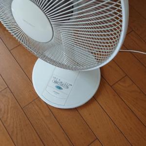 扇風機を使って換気を!