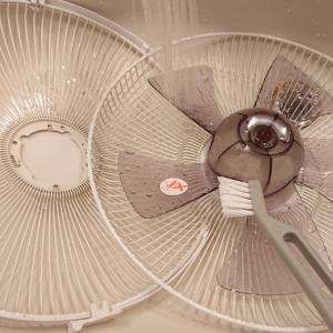 扇風機のお掃除@誰かにやってもらわない!