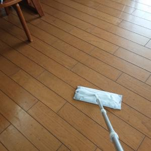 リズムよくお掃除から…。