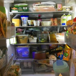 冷蔵庫レッスン♪