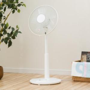 扇風機で空気感を整える