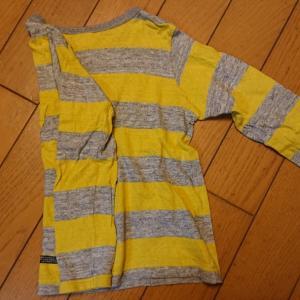①衣服のたたみ方
