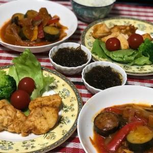 EMU's キッチン♡ラタトゥイユとタンドリーチキン