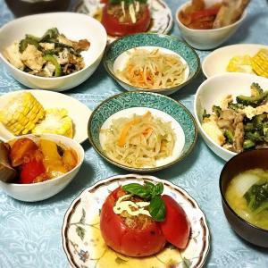 EMU's キッチン♡ トマトのサバ味噌ファルシー