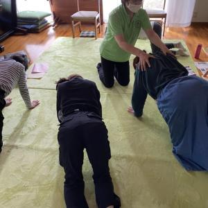 姿勢を良くする体操体験会