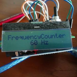 LCメーターのARDUINO移植にはまずは周波数カウンタが必要