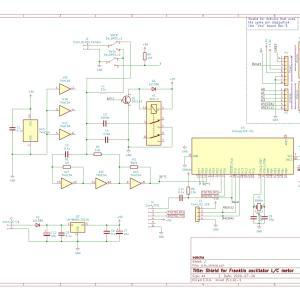 LCメータ―シールドの回路図をKiCADで書きました