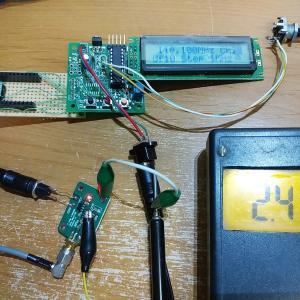 AD8307ログアンプ基板でRF電力を測ってみた
