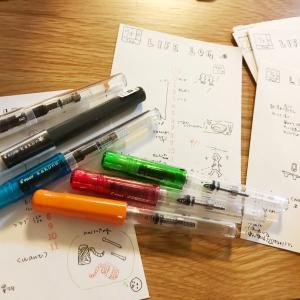 【文房具】日本の格安万年筆kakunoは優秀な件