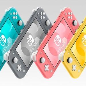 ビックカメラで全色在庫復活中!Nintendo Switch Lite
