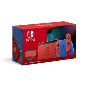 ビックカメラで販売中!Nintendo Switch マリオレッド×ブルー セット