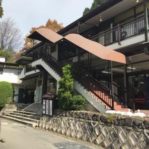 高野山 奥の院近くにある 和風らーめん みやま 昼食