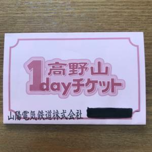 山陽電気鉄道 高野山1day チケット 2019.11.30まで パンフレットとチケット