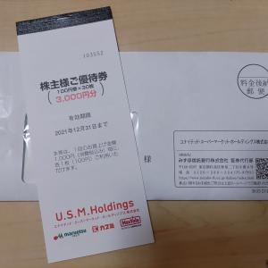 【株主優待】U.S.M.Holdings株式会社