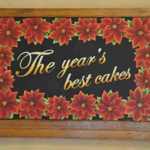 クラブハリエ守山玻璃絵館【2018年12月31日ケーキバイキング納め】 The Year's Best Cakes(前編) 行列待ち時間とケーキバイキングラインナップ