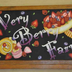 クラブハリエ守山玻璃絵館【2019年1月2日】今年も 「 Very berry Fair」でケーキバイキング初め♪(前編)