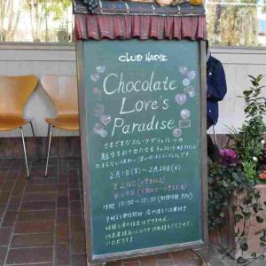 クラブハリエ守山玻璃絵館ケーキバイキング【2019年2月】 Chocolate Lover's Paradise