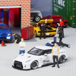 【新発売】 PANDEM R35 GT-R White 【イグニッションモデル 1/64】