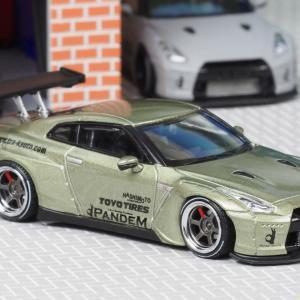 【新製品】 パンデム R35 GT-R グリーンメタリック 【ignition-model 1/64 IG-1748】 イグニッションモデル