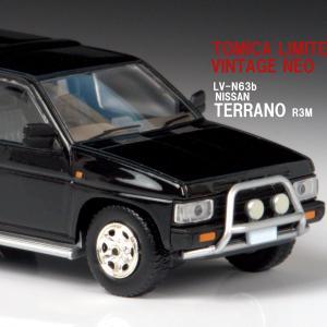 LV-N63b 1/64 ニッサン テラノ R3M オプション装着車 (黒) 【トミカリミテッドヴィンテージネオ】