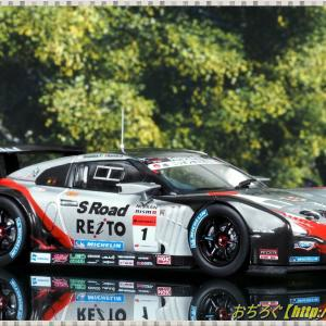 S Road REITO MOLA GT-R Low Down Force SUPER GT 2012 GT500 #1 【EBBRO 1/43 44852】