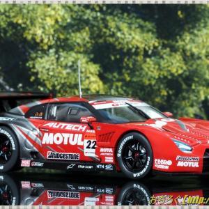 MOTUL AUTECH GT-R LOW-DOWN FORCE FUJI SUPER GT 2008 GT500 #22 【EBBRO 1/43 44128】