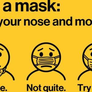 2020年11月第4週の運用総額: Mask up New York