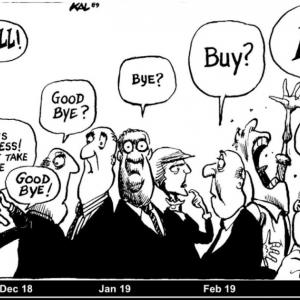The buying frenzy or Selling frenzy??